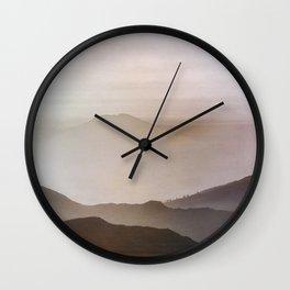 Hazy Dreams Wall Clock