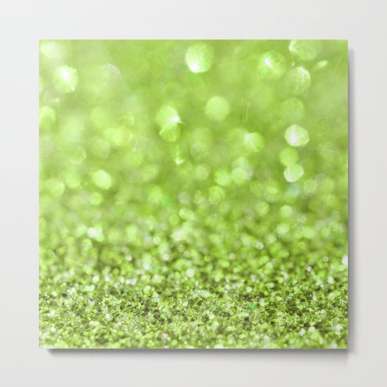 Magical Moss Metal Print