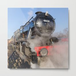 48624 Steam locomotive Metal Print