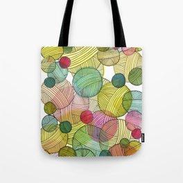Yarn Stash Tote Bag