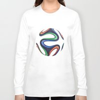 world cup Long Sleeve T-shirts featuring World Cup 2014 by LCPCS