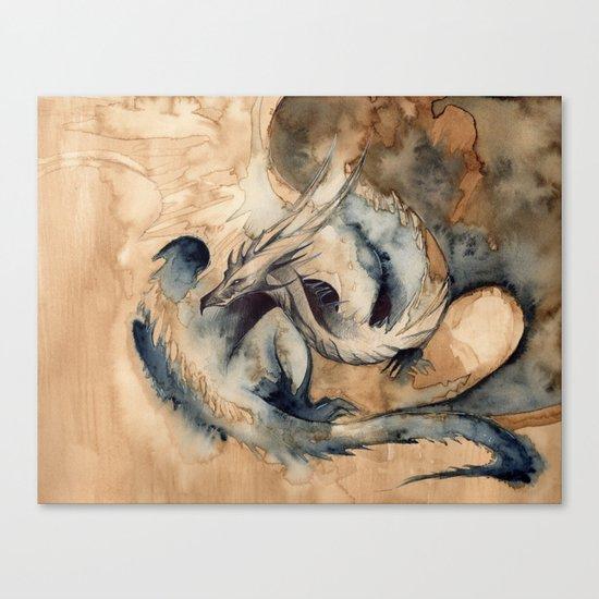 PAYNE'S DRAGON Canvas Print