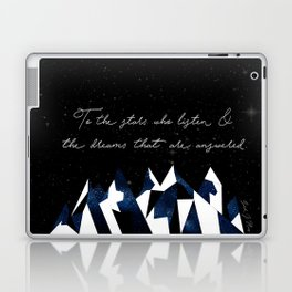 A Court of Mist and Fury Quote Laptop & iPad Skin