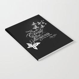 Strange Skullerflies - EA Poe Quote Notebook