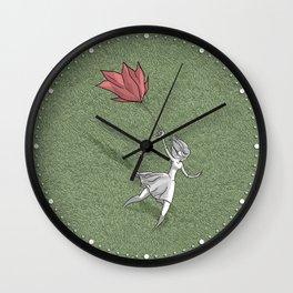 Rose umbrella Wall Clock