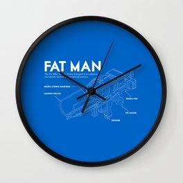 Fat Man Wall Clock