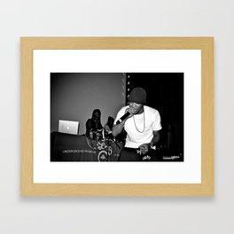 Live from New Jet City: Curren$y pt. 2 Framed Art Print
