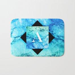 A - Monogram Vivids Bath Mat