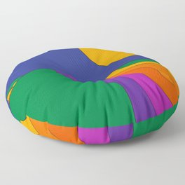 Rolling Hills Floor Pillow