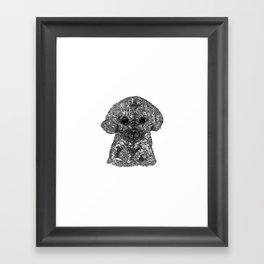 Don Caniche Framed Art Print