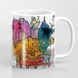 Subliminal City Coffee Mug