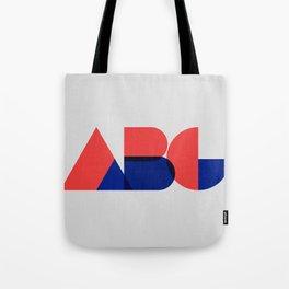Geometric ABC Tote Bag