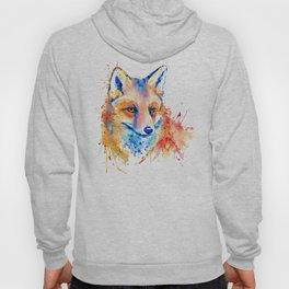 Cute Fox Head Hoody