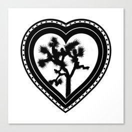 Heart of the Hi-Desert™ Joshua Tree by CREYES Canvas Print
