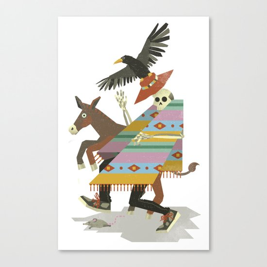 Thieves And Fools Canvas Print