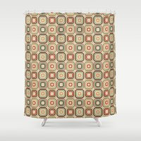 square Shower Curtains featuring Square by samedia