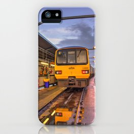 Shed Reflections iPhone Case
