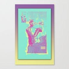 Excavacation Canvas Print