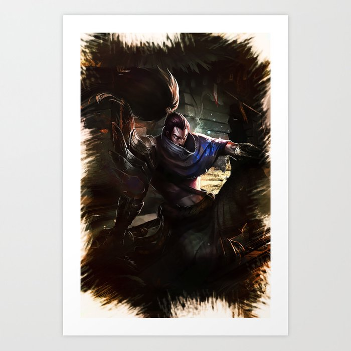 League Of Legends YASUO Art Print