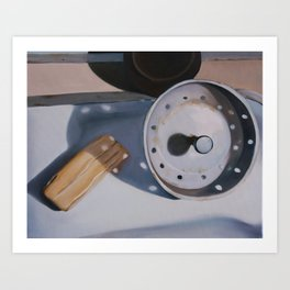 ...And the Kitchen Sink Art Print