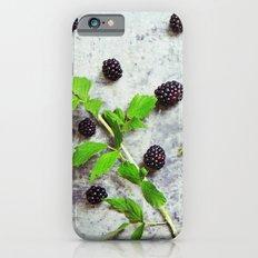 Scattered Blackberries iPhone 6s Slim Case