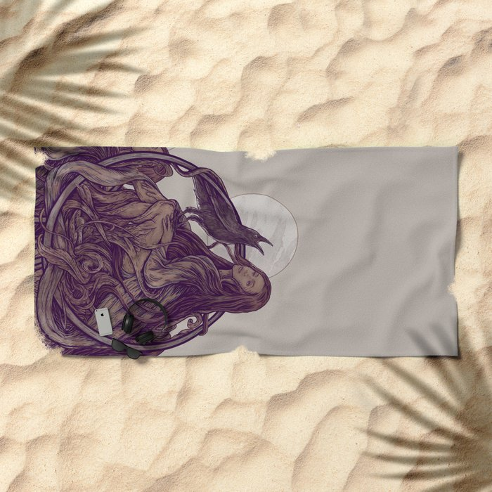 Flirt Beach Towel