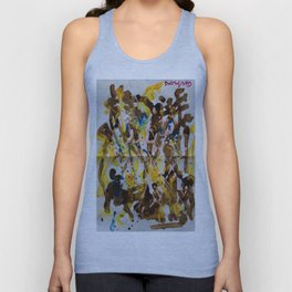 Abstract casting motive I Unisex Tank Top