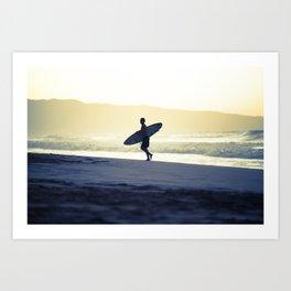 North Shore Dusk - Hawaii Seascapes #4 Art Print