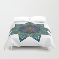 siren Duvet Covers featuring Siren by Angelo Cerantola
