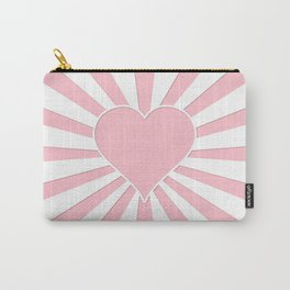 Pink Bubblegum Valentine Love Explosion Carry-All Pouch