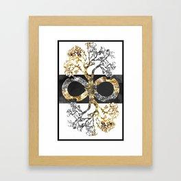 Infinity Tree Framed Art Print
