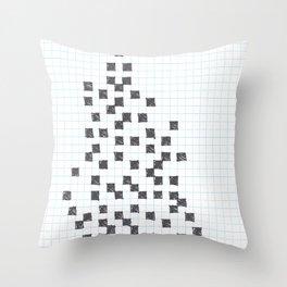 No word crossword Throw Pillow