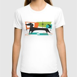 Mister Peepers Retro Mid Century Modern Design T-shirt