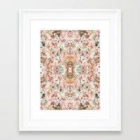 minerals Framed Art Prints featuring Mystic Minerals by Caroline Sansone