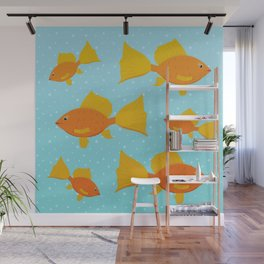 All the Fishes Wall Mural