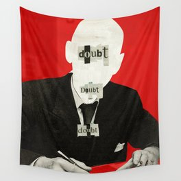 The truth is dead 1932 Wall Tapestry