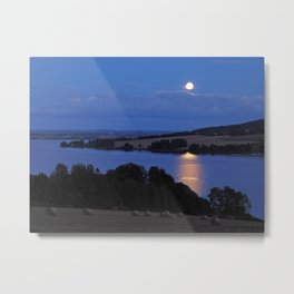 August Full Sturgeon Moon Metal Print