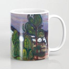 Train Smoke by Edvard Munch Coffee Mug