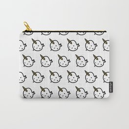 GOLD BUDDY NARWHALS Carry-All Pouch