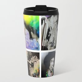 'Jimi Collage' Travel Mug