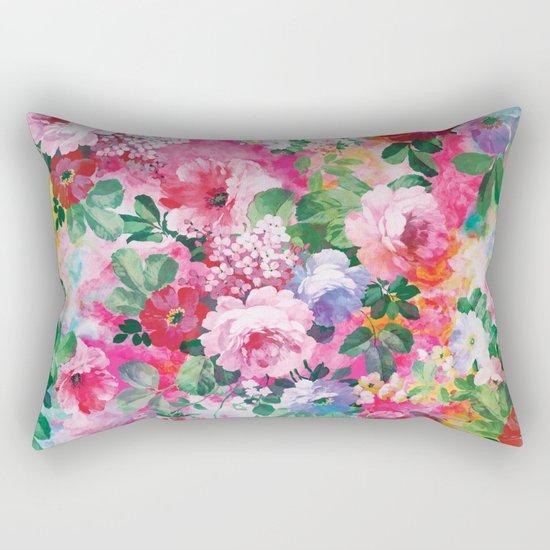 Beautiful Garden Rectangular Pillow