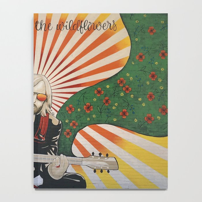 Wildflowers (Tom Petty Tribute Mural, Gainesville) Notebook