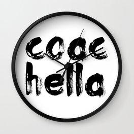 coac hella Wall Clock