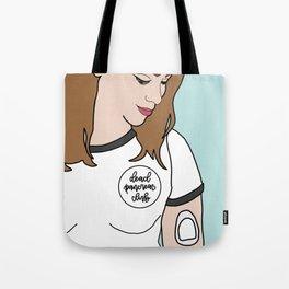 Katabetic - Brunette Tote Bag