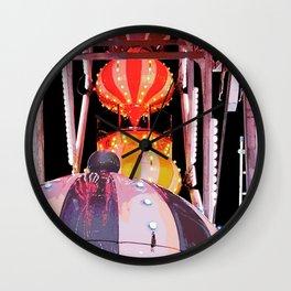 Farris Wheel at Carnival Wall Clock