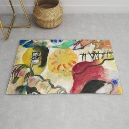 Wassily Kandinsky Improvisation 27 (Garden of Love II) (1912) Rug