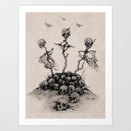 Skulls & Crosses - Pirate Conquest Art Print