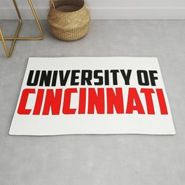 U of Cincinnati, Ohio Rug