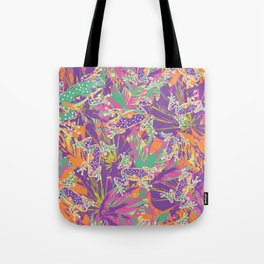 Tropical summer rainforest party Tote Bag