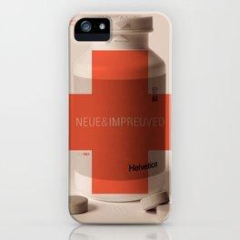 Neue Helvetica iPhone Case